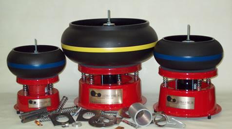 Thumlers vibratory tumbler, UV-45