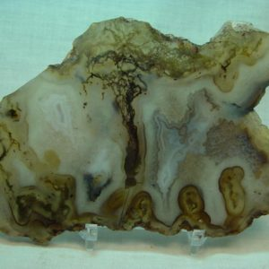 Blackskin agate slabs