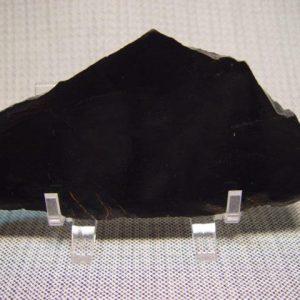 Black chalcedony, onyx slabs
