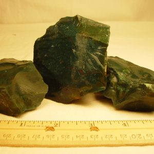 Rough: Bloodstone, tumbling