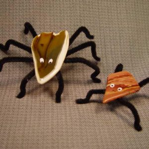 How to make rock bugs and spiders