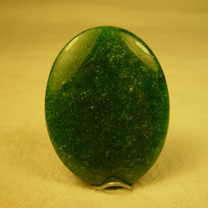 Aventurine, green, 40 x 30mm cab