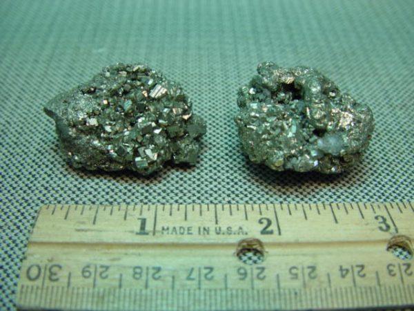 "Iron pyrite, ""fool''s gold"