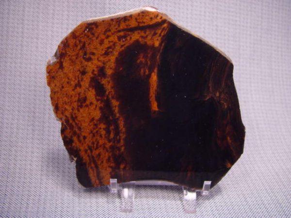 Rough: Obsidian, mahogany double flow