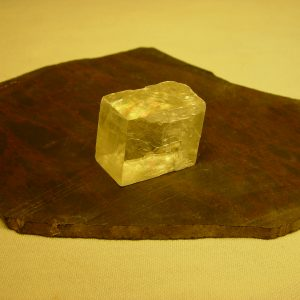 Optical calcite crystal