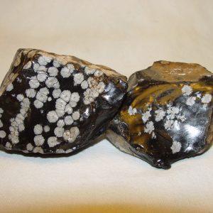 Rough: Obsidian, snowflake